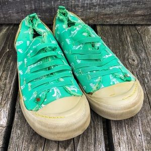 Rocket Dog Aloha Print Sneakers! VGUC!